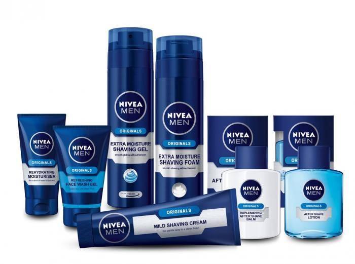 nivea shaving products
