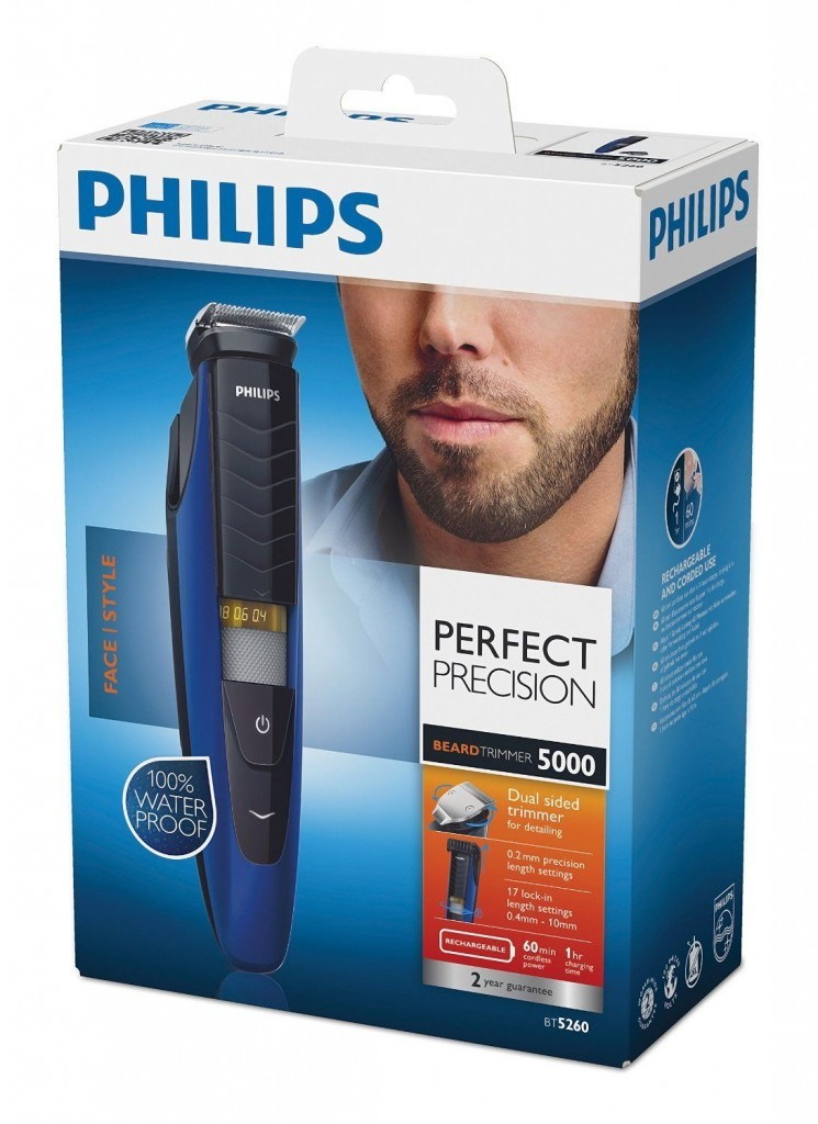 philips bt5262 13 beard trimmer series 5000 review best price. Black Bedroom Furniture Sets. Home Design Ideas