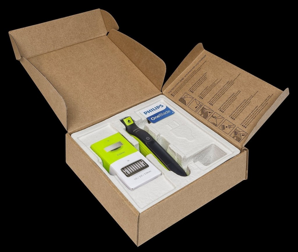 boxed image of oneblade