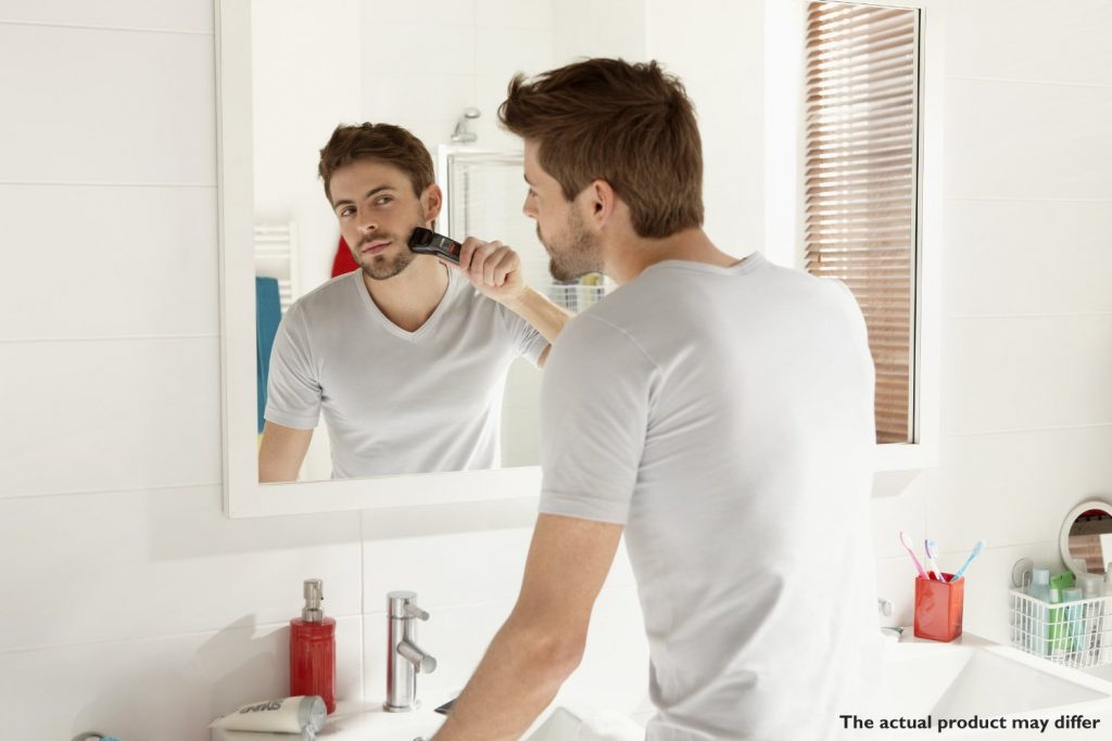 shaving with the Philips QT4013 23