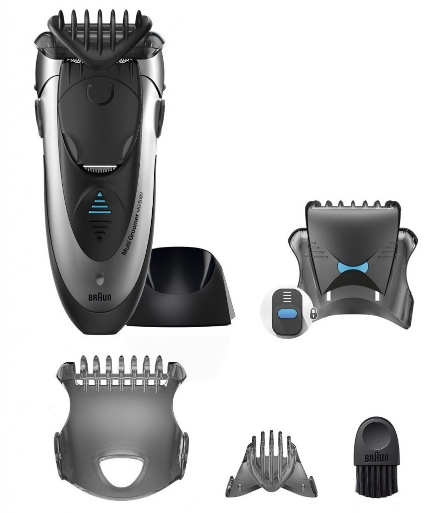 braun multi groomer set