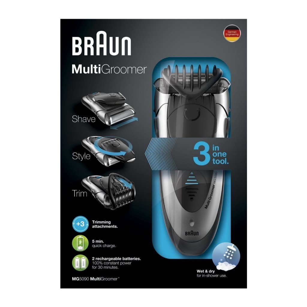 braun mg5090 multi groomer wet dry review. Black Bedroom Furniture Sets. Home Design Ideas