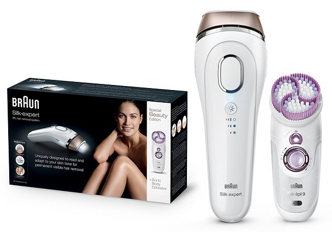 Braun Silk-Expert 5 IPL review - devices boxed