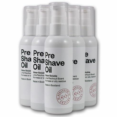 executive pre shave oil