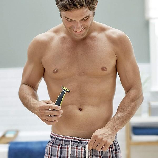 Genital area mens shaving How To
