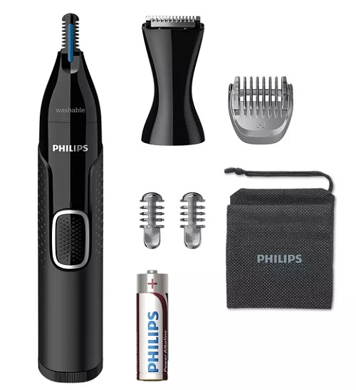 Series 5000 nose and ear hair trimmer