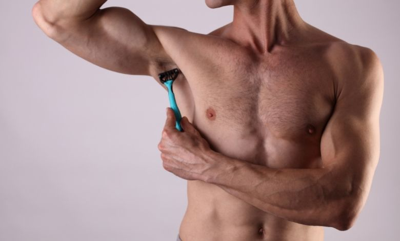 male body hair removal